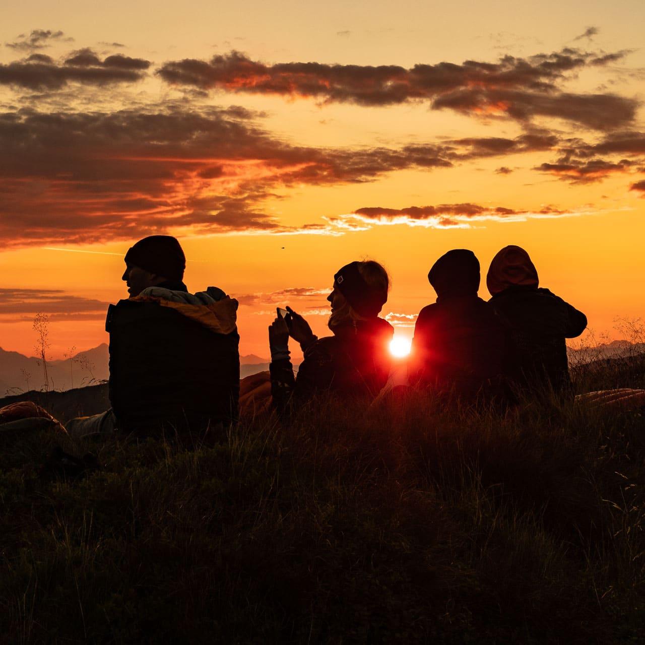 Sonnenmeditation am Berg – Vom Dunkel ins Licht